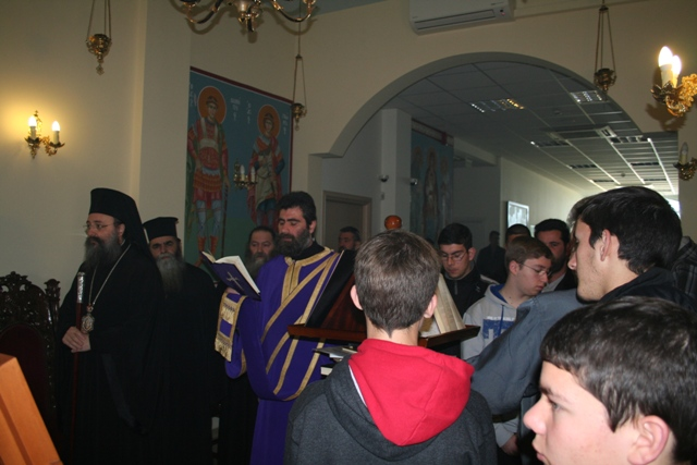 Βλέπετε εικόνες από το άρθρο: Τελευταία προηγιασμένη Θεία Λειτουργία στο Εκκλησιαστικό Λύκειο Πατρών