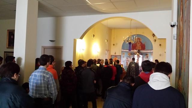 Βλέπετε εικόνες από το άρθρο: 27 Μαρτίου 2015 Θεία Λειτουργία των Προηγιασμένων Τιμίων Δώρων