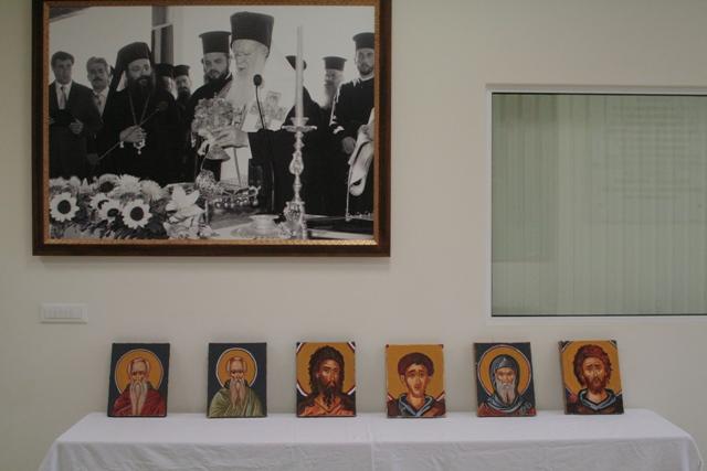 Βλέπετε εικόνες από το άρθρο: Αγιογραφία στο Γενικό Εκκλησιαστικό Λύκειο Πατρών