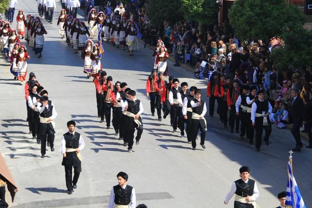 Βλέπετε εικόνες από το άρθρο: Παρέλαση 25 Μαρτίου