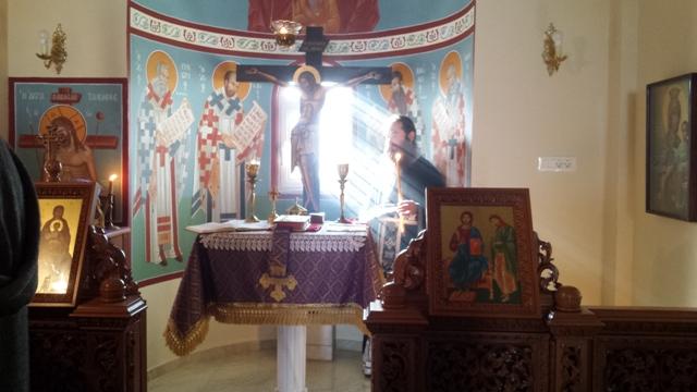 Βλέπετε εικόνες από το άρθρο:  Θεία Λειτουργία των Προηγιασμένων Τιμίων Δώρων